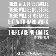 Inspirational success quote